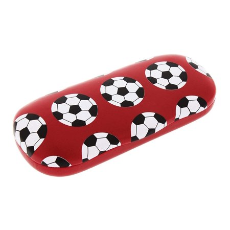 Sports Themed Hard Shell Eyeglass Case For Boys And Girls, Soccer (Football) - Themes For Football