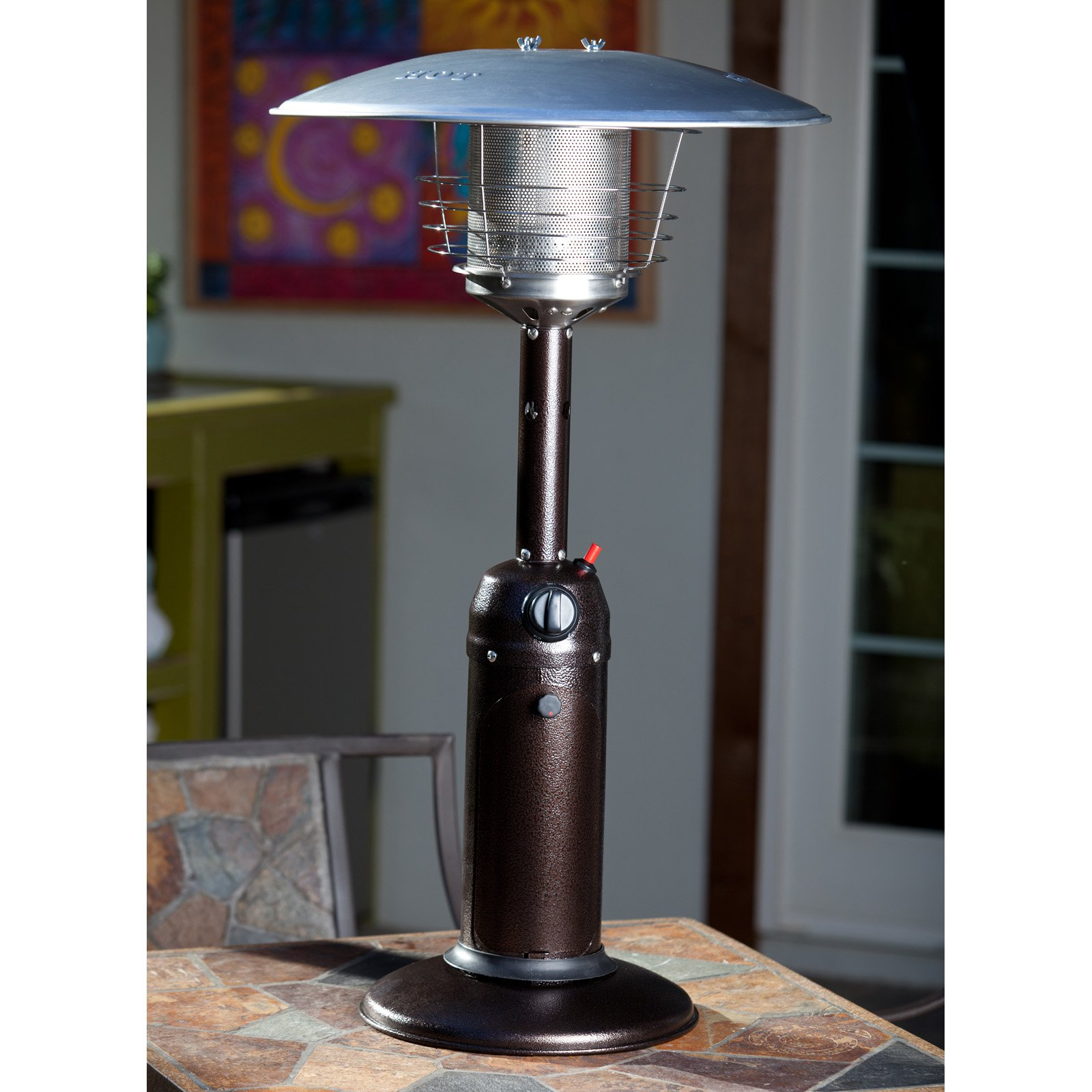 Fire Sense Table Top Patio Heater by Well Traveled Living