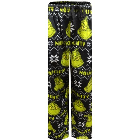 Dr. Seuss The Grinch Naughty not Nice Ultrasoft Lounge Pants