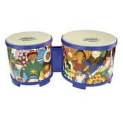 """Rhythm Club® Bongo Drum - Rhythm Kids, 5""""-6"""""""
