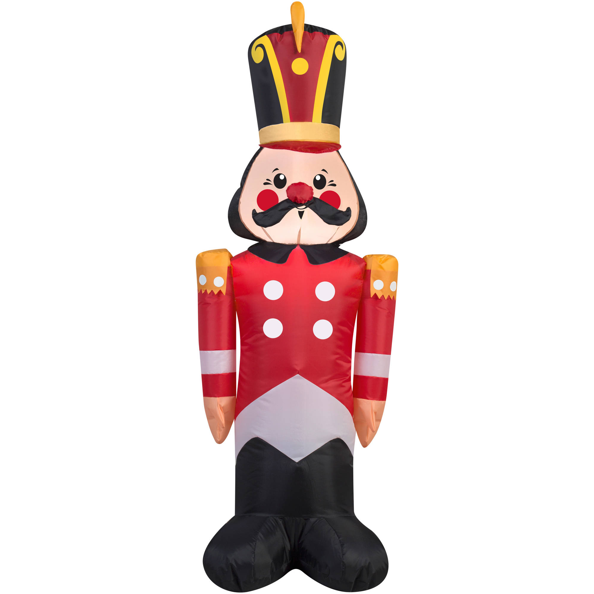 Gemmy Airblown Christmas Inflatables Toy Soldier, 4' - Walmart.com