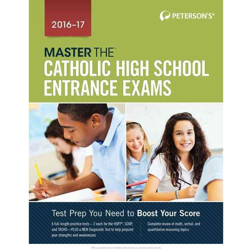 Peterson's Master the Catholic High School Entrance Exams 2016-17