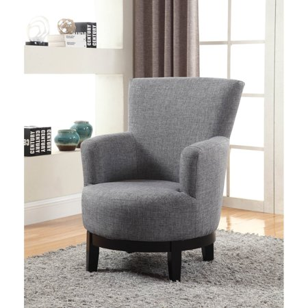 Nh Designs Swivel Accent Chair Walmart Com