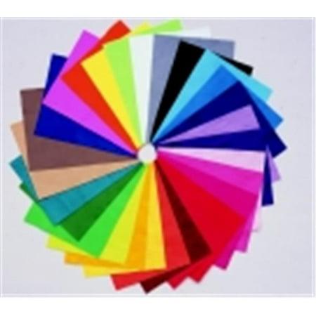 Cpe Acrylic Washable Decorator Felt Assortment - Purple, Pack 25 - Decorator Fabric