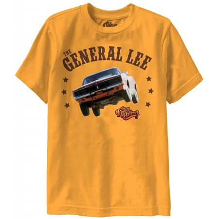 - Dukes of Hazzard General Lee Youth Gold T-shirt