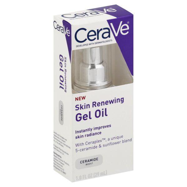 Valeant Pharmaceuticals, CeraVe Gel Oil Skin Renewing, 1 fl oz