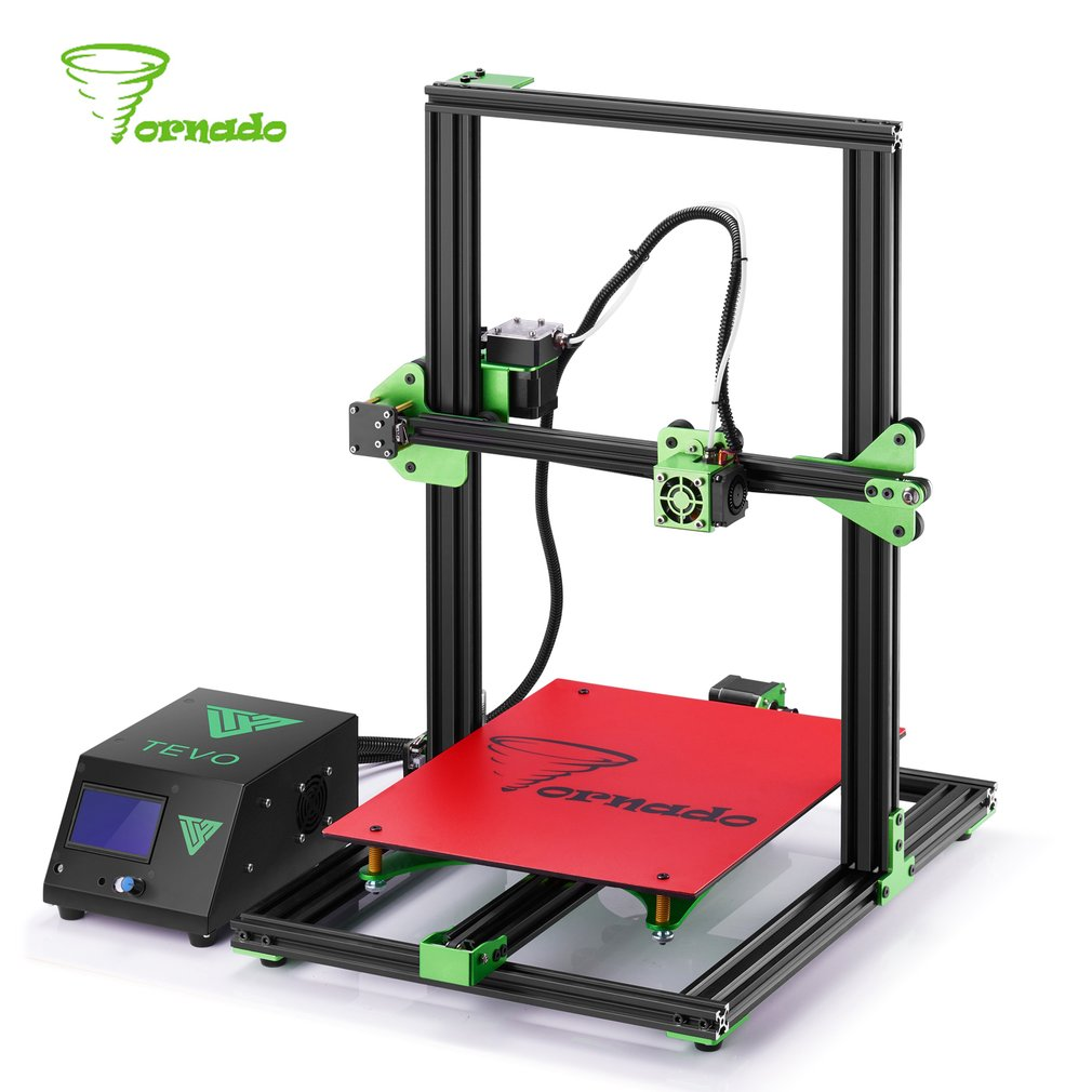 Tornado 3D Printer Fully Assembled Aluminium Extrusion 3D printer part Impresora High Precision 3D Printer Kit