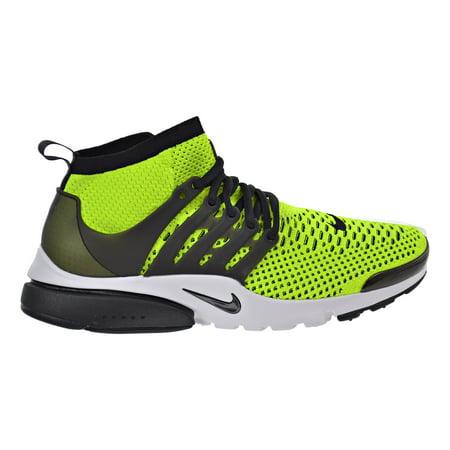 650ed2f5e075 Nike Air Presto Flyknit Ultra Men s Shoes Volt Black White 835570 ...