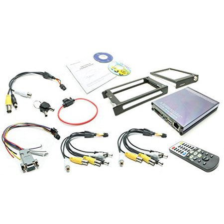 Rostra 250-8901 Car 4-Channel Digital Video Recording System