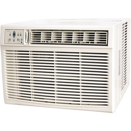 Keystone 25,000/24,700 BTU 230V Window/Wall Air Conditioner with 16,000 BTU Supplemental Heat
