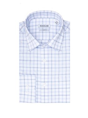 Haggar Men's Comfort Slim Fit Dress Shirt