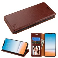 Product Image LG G7 ThinQ Case, by Insten MyJacket Folio Flip Leather Case Cover w/Stand
