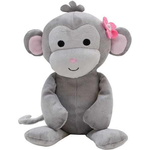 Lambs & Ivy Pinkie Plush Cupcake the Monkey