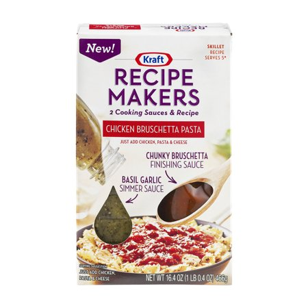 Kraft recipe makers cooking sauces skillet recipe chicken bruschetta kraft recipe makers cooking sauces skillet recipe chicken bruschetta pasta 164 oz forumfinder Image collections