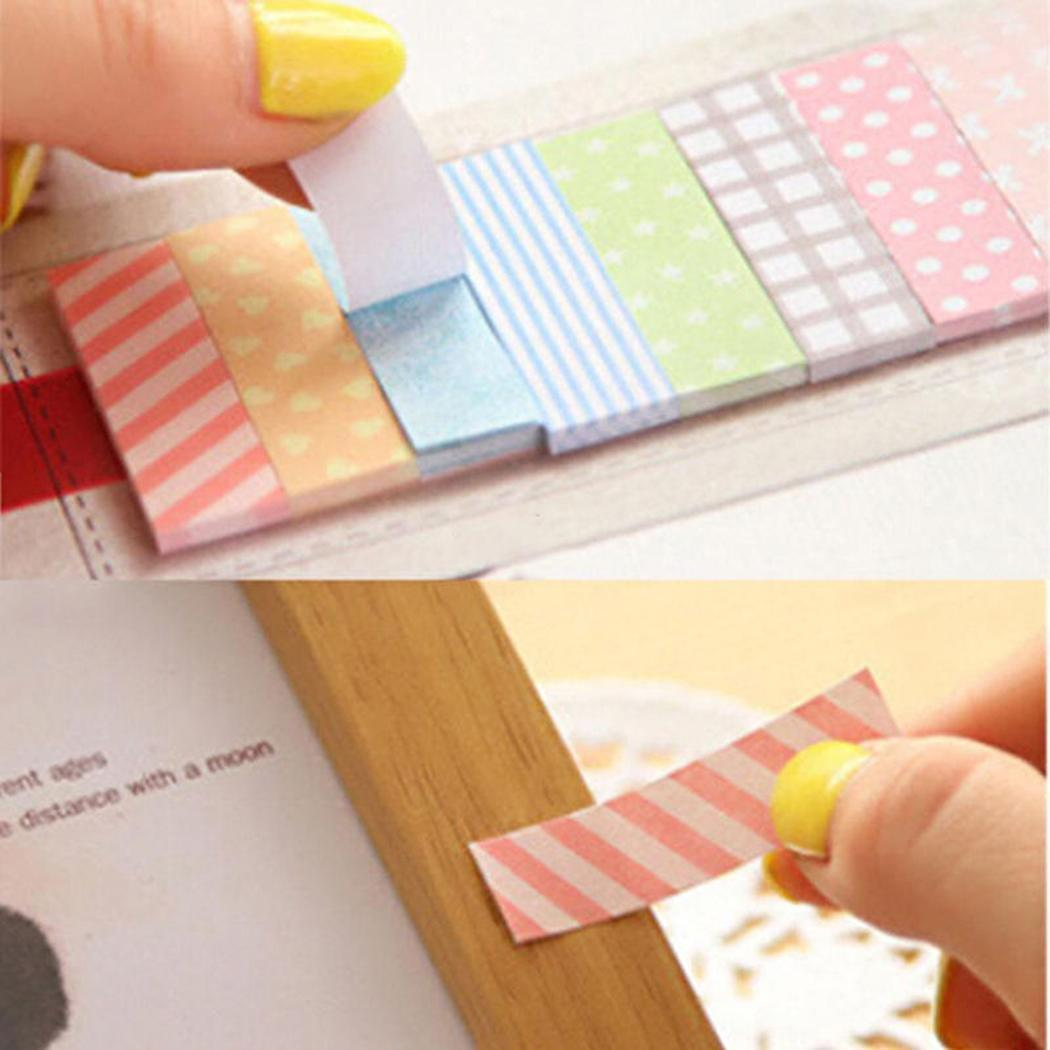 160 Pages Cute Sticker Bookmark Point It Marker Post Flags Marking Sticky Notes BEDYDS by