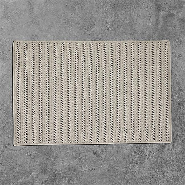 Colonial Mills Rug OO09R024X108S 2 x 9 ft. Sunbrella Booth Bay Braided Rug  Mink - image 1 of 1