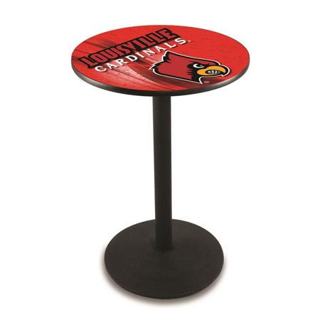 Holland Bar Stool L214B3636Lville-D2 36 in. Louisville Cardinals Pub Table with 36 in. Top - image 1 of 1