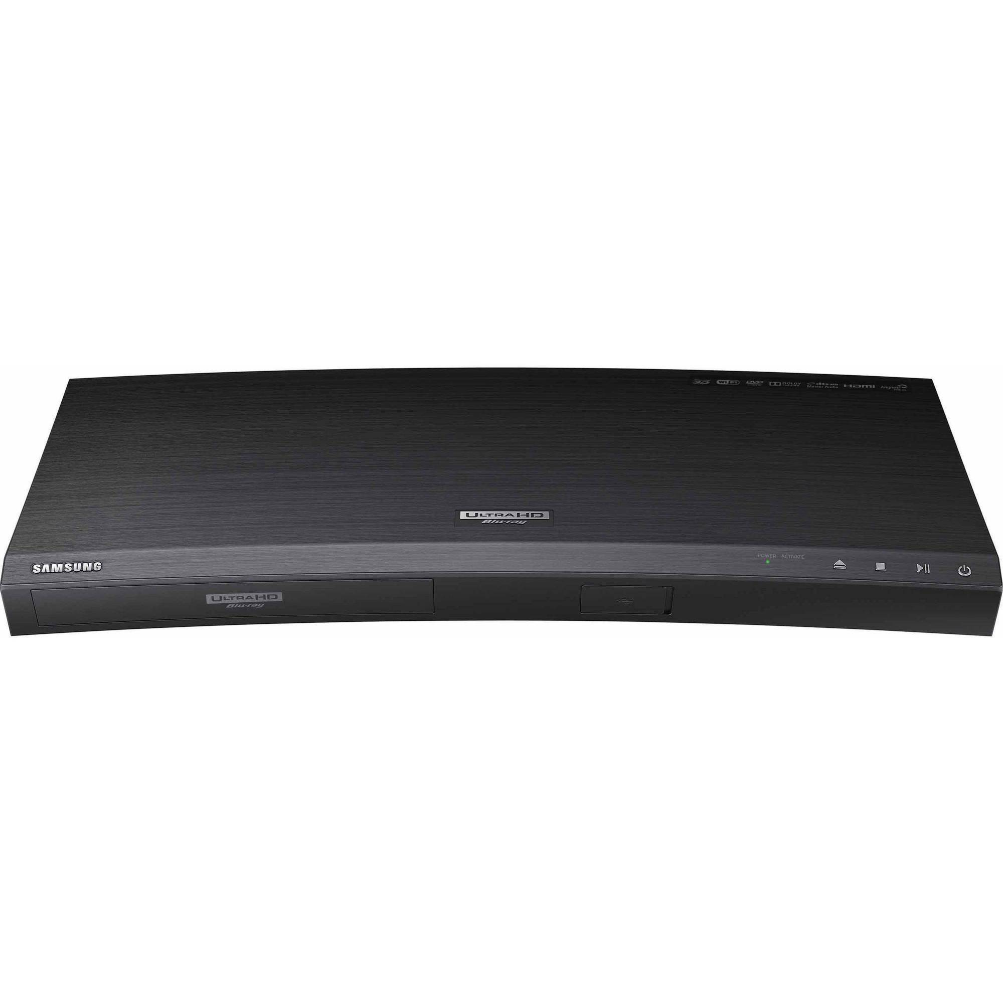 Samsung UBD-K8500 4K Ultra HD Blu-ray & DVD Player with HDR and Wi-Fi Streaming by Samsung