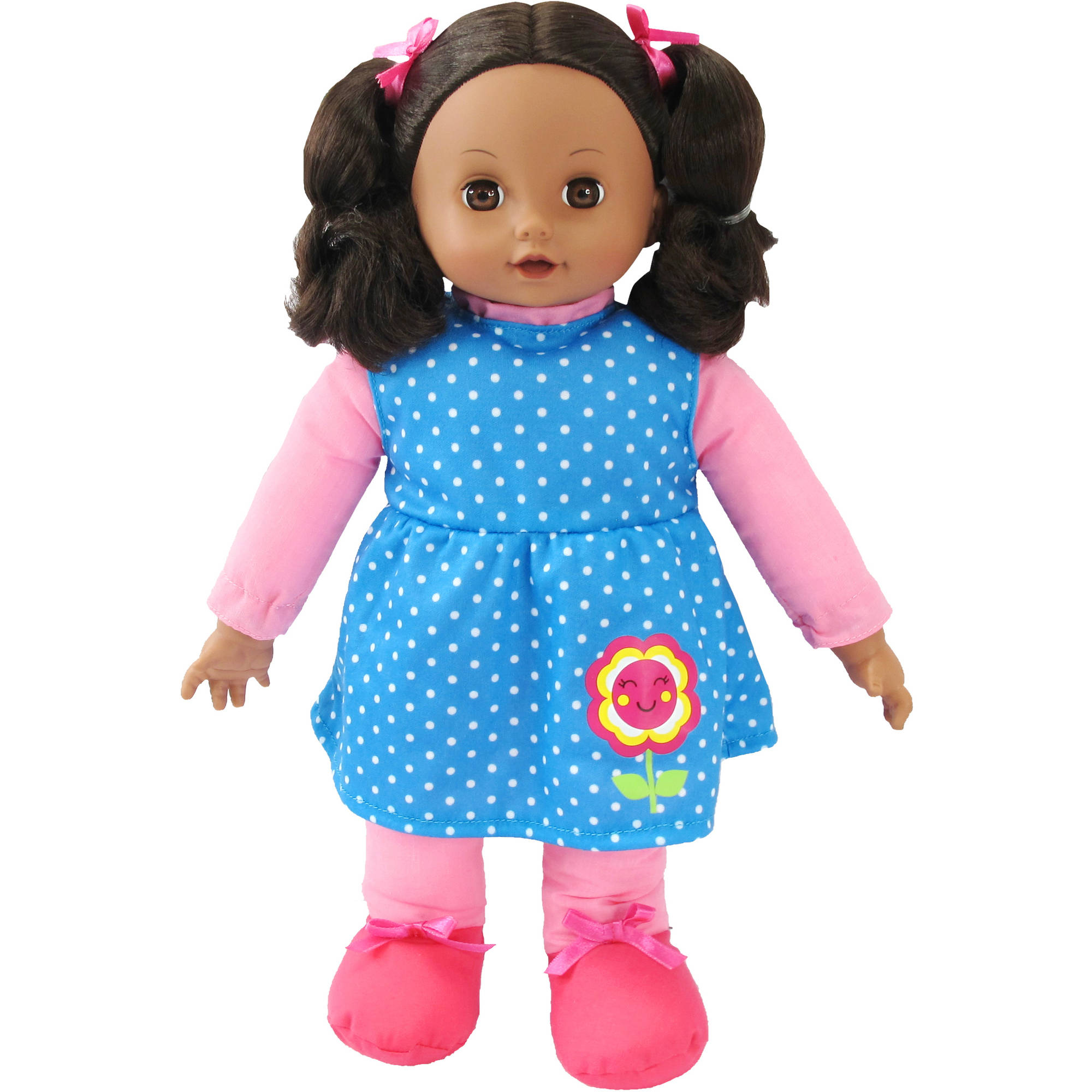 My Sweet Love Toddler Doll, African American, Blue