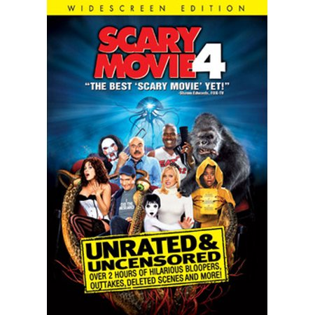 Scary Movie 4 (DVD)](Good Non Scary Halloween Movies)