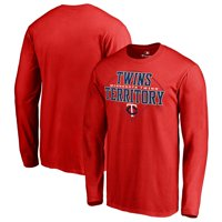 Minnesota Twins Fanatics Branded Hometown Collection Twins Territory Long Sleeve T-Shirt - Red