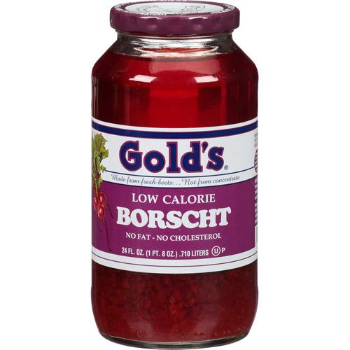 Gold's Low Calorie Borscht, 24 fl oz, (Pack of 6)