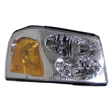 Go-Parts » 2002 - 2006 GMC Envoy XL Front Headlight Headlamp Assembly Front Housing / Lens / Cover - Right (Passenger) Side 15866070 GM2503220 Replacement For GMC Envoy XL