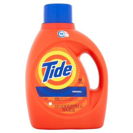 Tide He Original Scent Liquid Laundry Detergent  75 Fl Oz