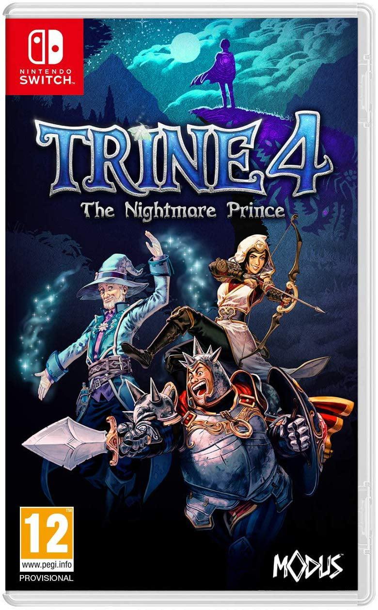 Trine 4: The Nightmare Prince, Modus, Nintendo Switch, 814290014810