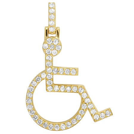 presen diamonds large journey circle gold inc image present products diamond afbc year iceberg anniversary pendant