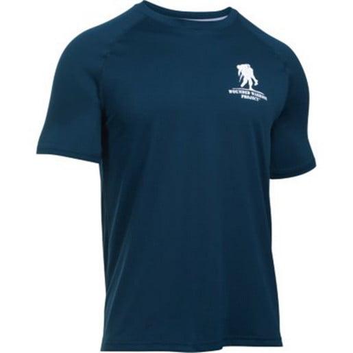 Under Armour 1280628 Men's Academy WWP Tech Short Sleeve ...