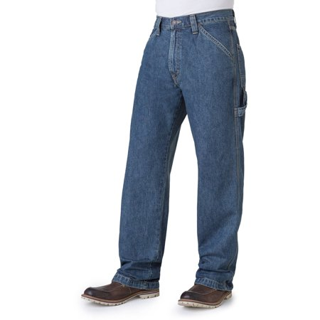 Signature by Levi Strauss; Co.; Men's Big; Tall Carpenter Jeans