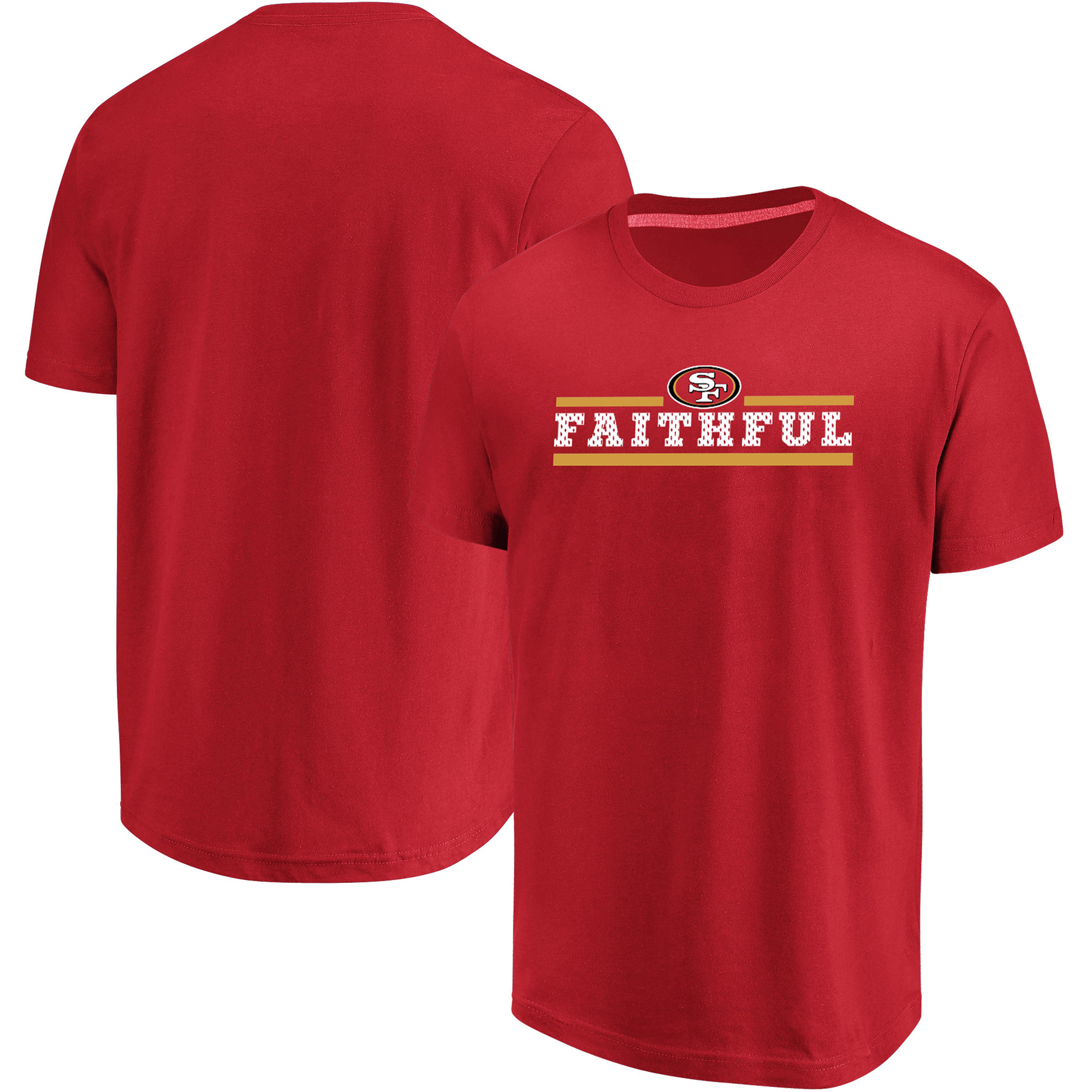 San Francisco 49ers Majestic Big & Tall Safety Blitz T-Shirt - Scarlet