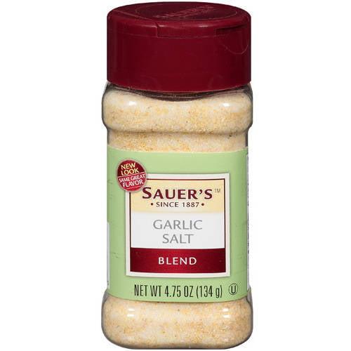 Sauer's Garlic Salt Blend, 4.75 oz