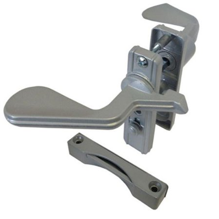 Screen and Storm Door Latch, Non-Keyed, Surface Mount, For Inswinging Doors, Aluminum, Door Latch for Inswinging Doors By TechnologyLK ()