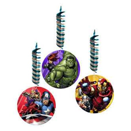 Avengers 'Assemble' Hanging Cutout Decorations (3ct)