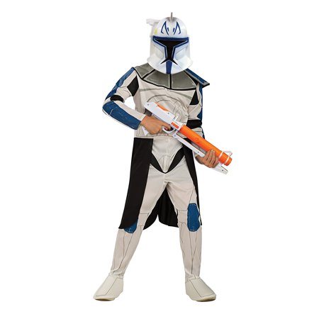 Star Wars Clone Wars Clone Trooper Child's Captain Rex Costume, Small, Star Wars Clone Wars Clone Trooper Child's Captain Rex Costume, Small By Rubie's