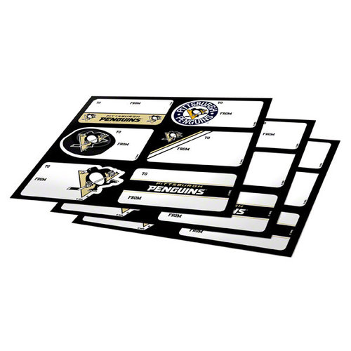 NHL - Pittsburgh Penguins Gift Stickers