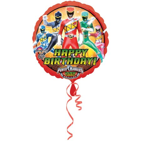 Power Rangers Dino Chargers Foil - Balloon On Stick