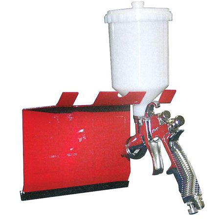 Magnetic Paint Gun Holder - for Paint Booths Mixing Rooms and Prep Stations