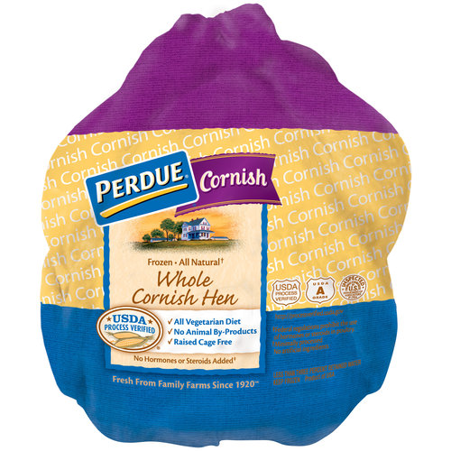 Perdue All Natural Whole Cornish Hen