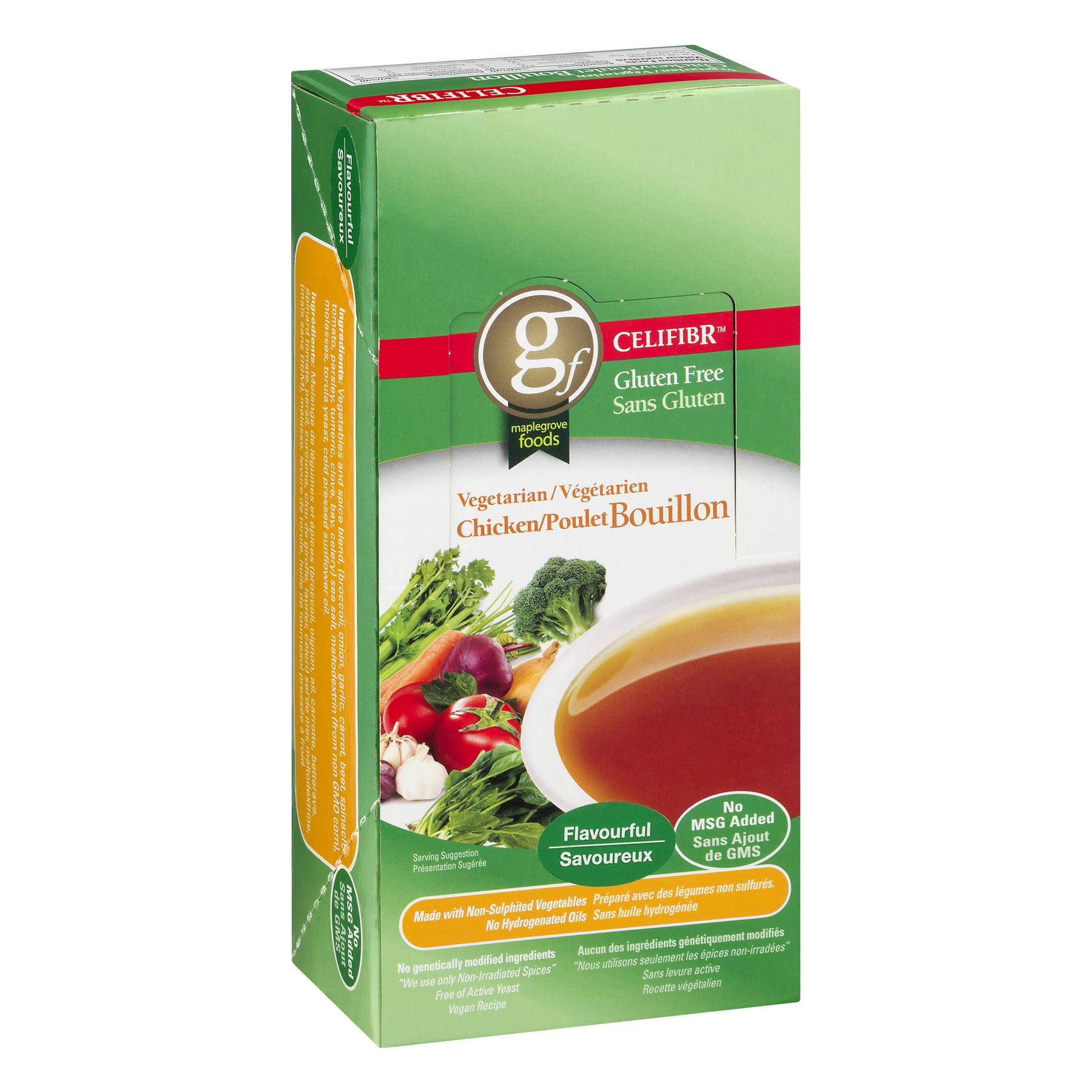 Celifibr Gluten Free Vegetarian Bouillon Soup Chicken 2 Ounce