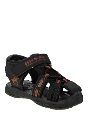 Beverly Hills Polo Club Closed Toe Caged Sport Sandals (Toddler Boys)