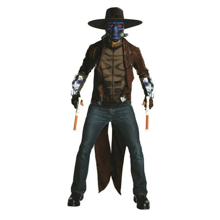 Adult Deluxe Cad Bane Costume - Clone Wars Season 3 - Bane For Halloween