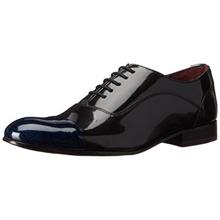 Ted Baker Men's Archeey 2 Tuxedo Oxford, Dark Blue, 9 M US (Ted Baker Blue Shoes)