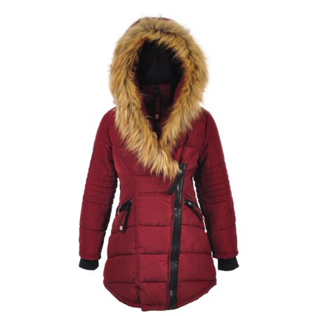 Canada Weather Gear Girls' Insulated Jacket