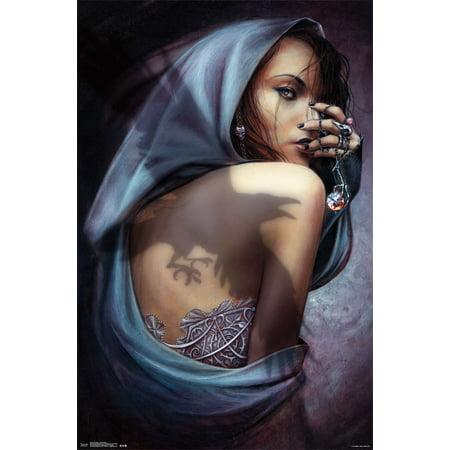 Trends International Alchemy Raven Rose Wall Poster 22.375