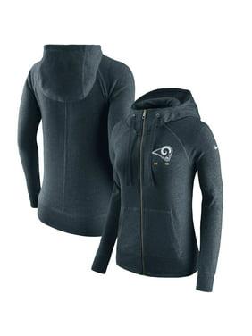 Product Image Los Angeles Rams Nike Women s Gym Vintage Full-Zip Hoodie -  Navy 77a6fd47c3