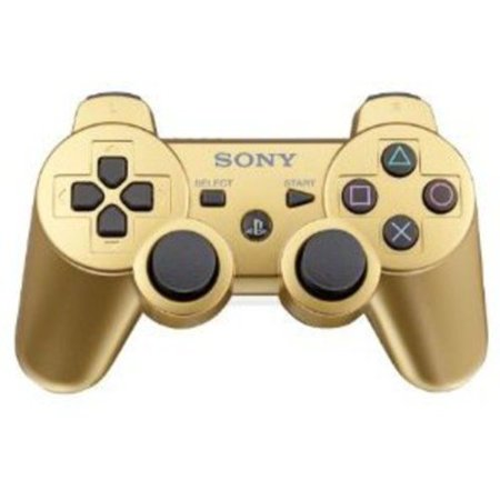 Sony Dual Shock 3 Controller - Gold (PS3)