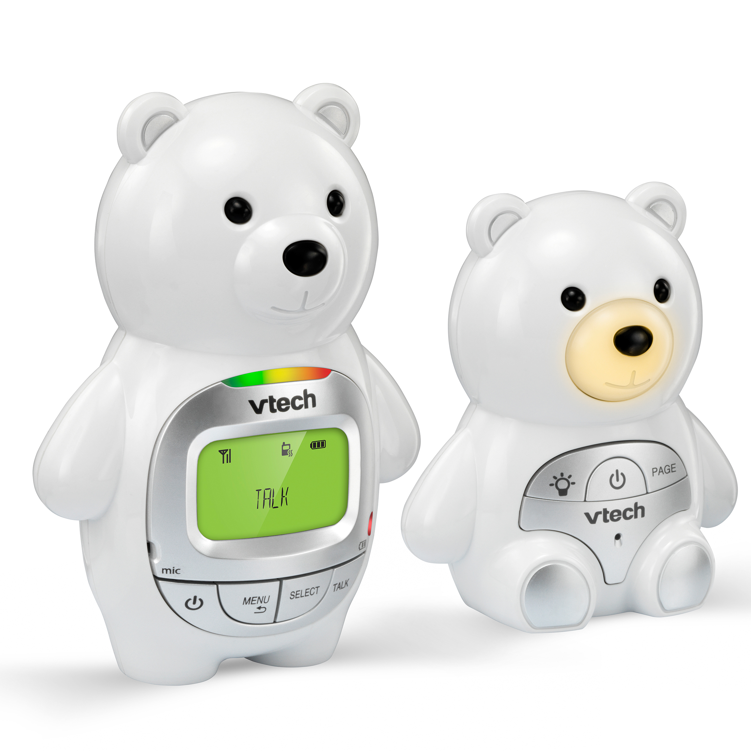 Vtech DM226, Audio Baby Monitor, Bears